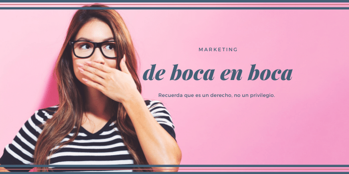 marketing de boca en boca
